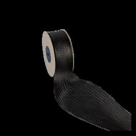 Carbon Fibre Braid 3K 25mm Diameter 15m Roll