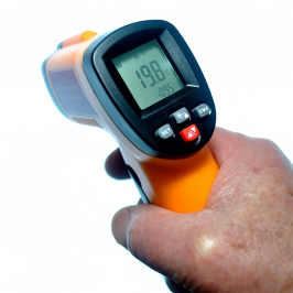 Infrared Digital Thermometer Gun (Includes Battery)