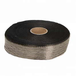 Hybrid Flax and Basalt UD Tape 50mm x 50m Roll