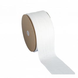 Polyester stockinette 8cm 33.5m, 1kg roll