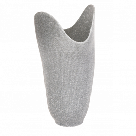 Nylon/Lurex Silver Stockinette