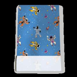 Stretch Fabric, Astro Blue