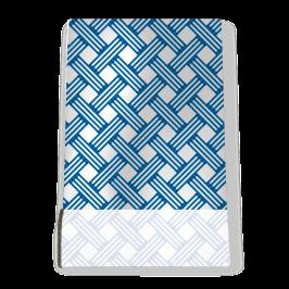 Stretch Fabric, Braid Blue
