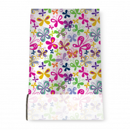 Stretch Fabric, Bright Butterflies
