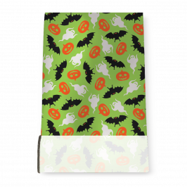 Stretch Fabric, Halloween Green
