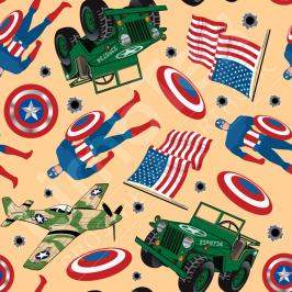 Transfer Paper, American Hero, 0.8x10m Roll