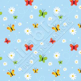 Transfer Paper, Butterflies Small, 0.8x10m Roll