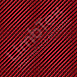 Transfer Paper, Carbon Fibre Red, 0.8x10m Roll